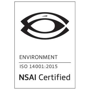 OpTech NSAI ISO 14001 Certification