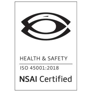 OpTech NSAI ISO 45001 Certification