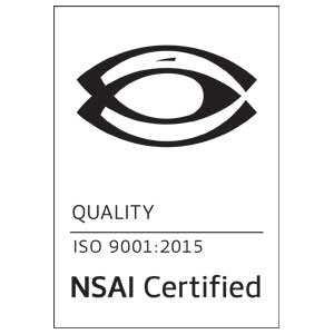 OpTech NSAI ISO 9001 Certification