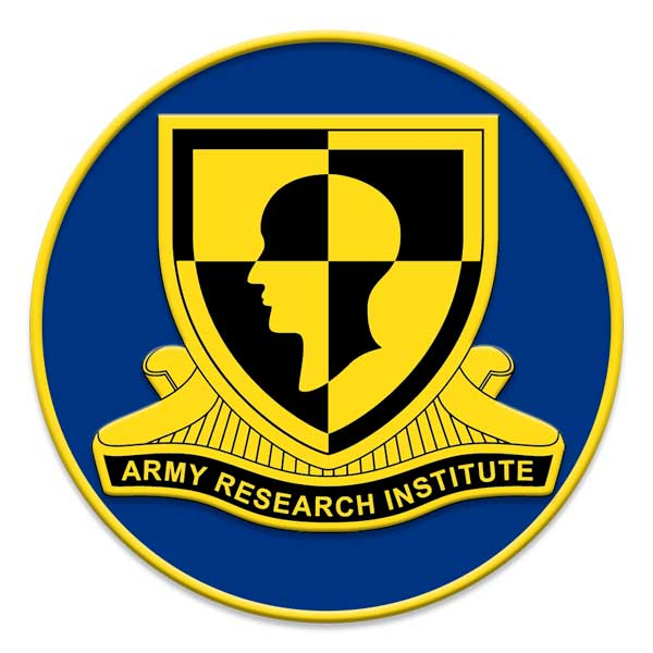 Personnel Research for the Army Research Institute
